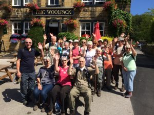 """WATER, WOODS, AND WOOLPACK: A BAILDON WALKERS ARE WELCOME """"SECOND SATURDAY GUIDED WALK"""" @ Meet at Baildon Potted Meat Stick,"""